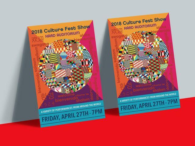 Pomfret Culture Fest Poster