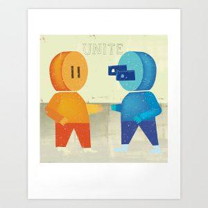 Unite Giclee print artwork