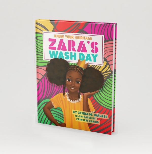 Zara's Wash Day Cover Image